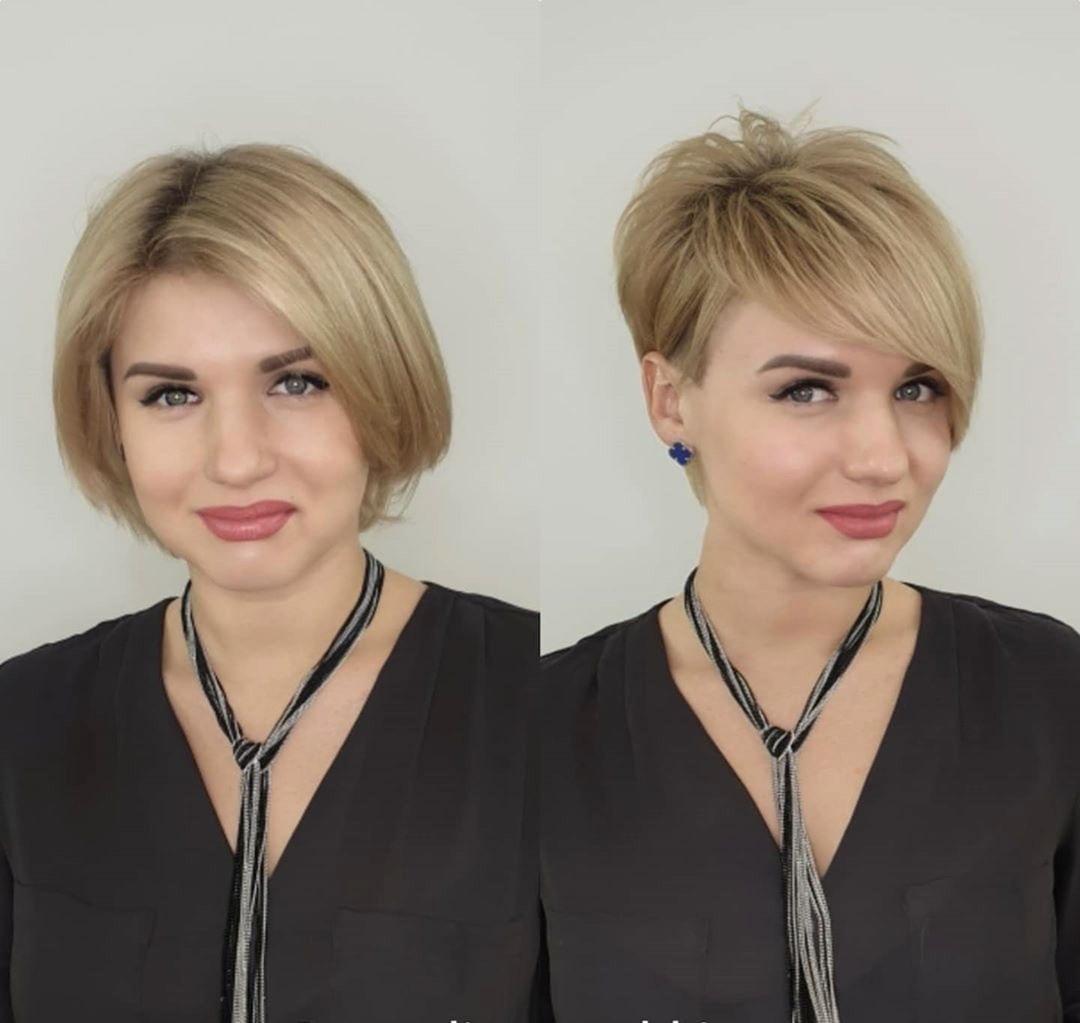 Trasformare il viso con un pixie cut moderno e sensuale