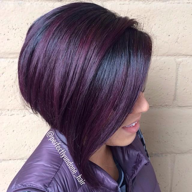 capelli tinta viola