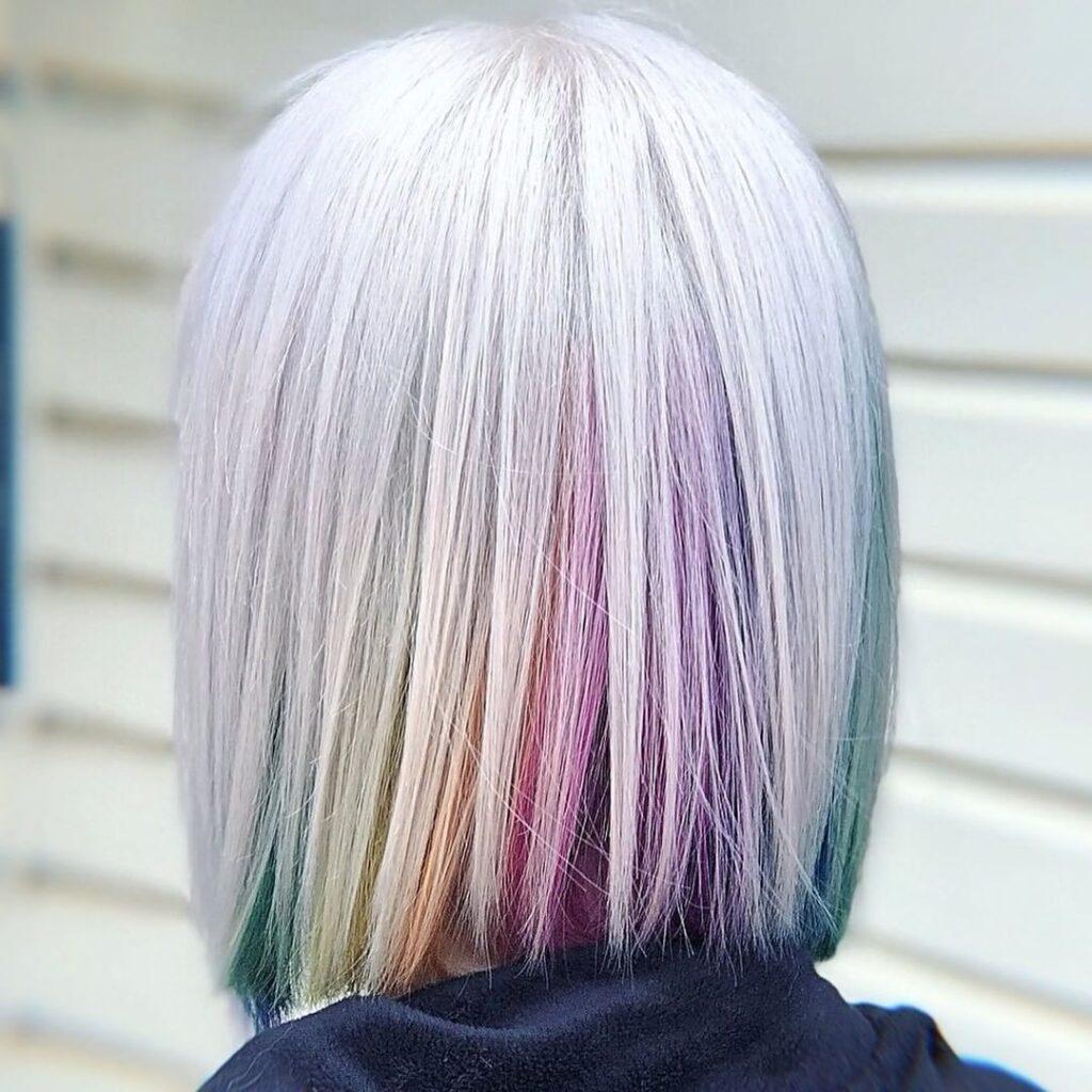 bob con colori arcobaleno