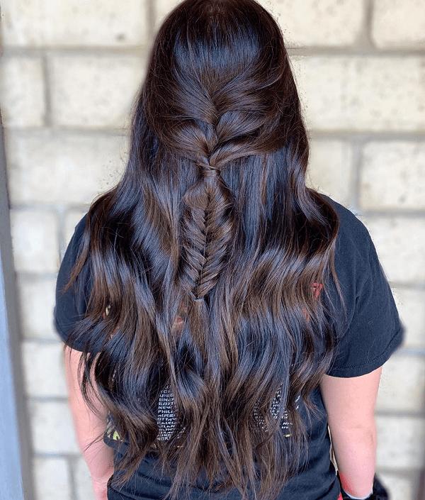 capelli moka con riflessi