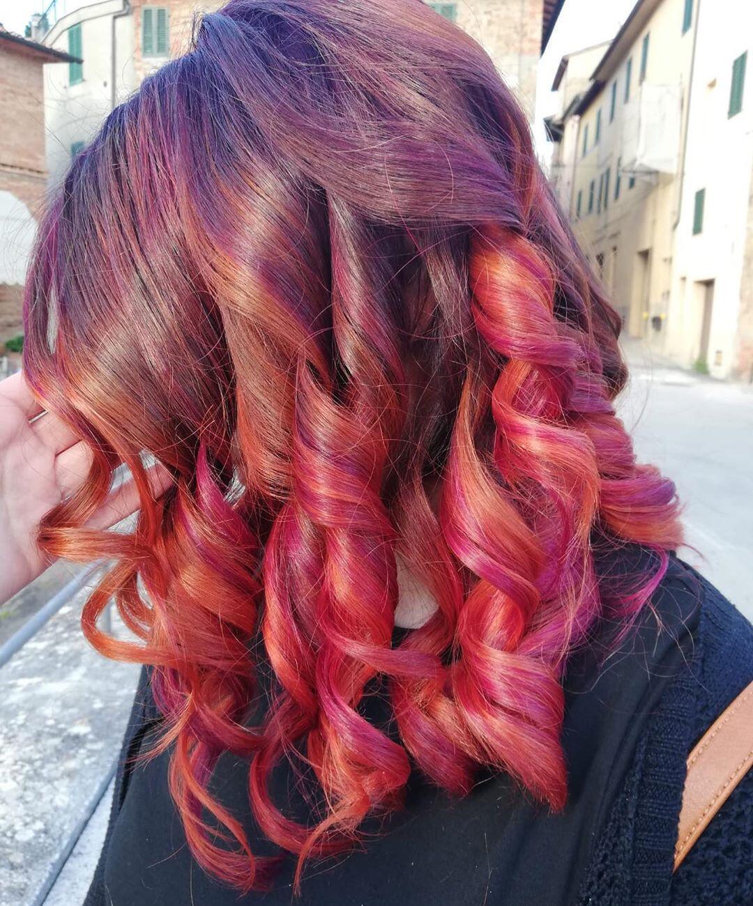 rosso cherry e viola
